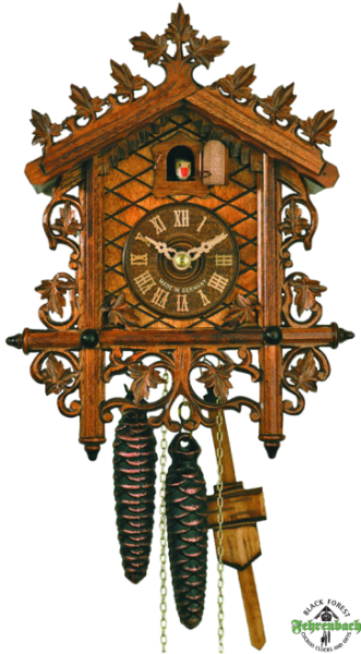 Home Cuckoo Clock - 1-Day Traditional Station House Cuckoo Clock ...