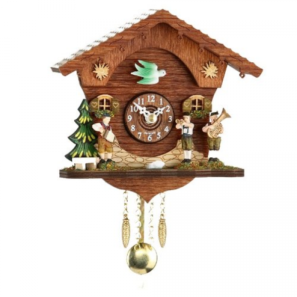 Cuckoo Clocks UK | Kuckulino Black Forest Clock with cuckoo, incl ...