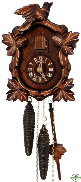 Home Cuckoo Clock - 1-Day Traditional with Oval Face - Schneider