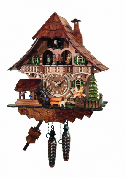 Black Forest Cuckoo Clock with Dancers - Whyrll.com