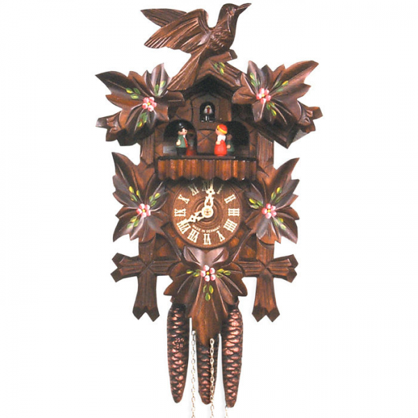 Black Forest Cuckoo Clock with Dancers at Brookstone—Buy Now!