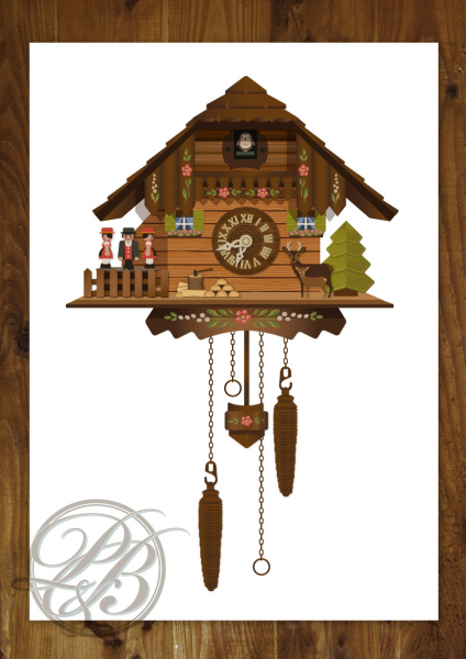 Digital Cuckoo Clock