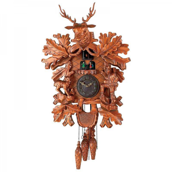 Kassel Large Electronic Chime Cuckoo Clock For Sale | Antiques.com ...