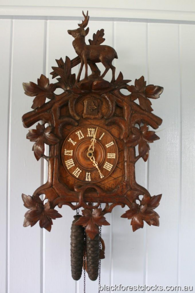 Details about Antique Cuckoo Clock