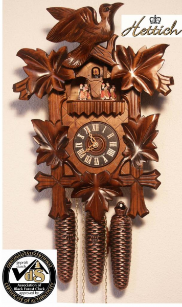 Home Original Black Forest cuckoo clock with hand-crafted hand-made ...