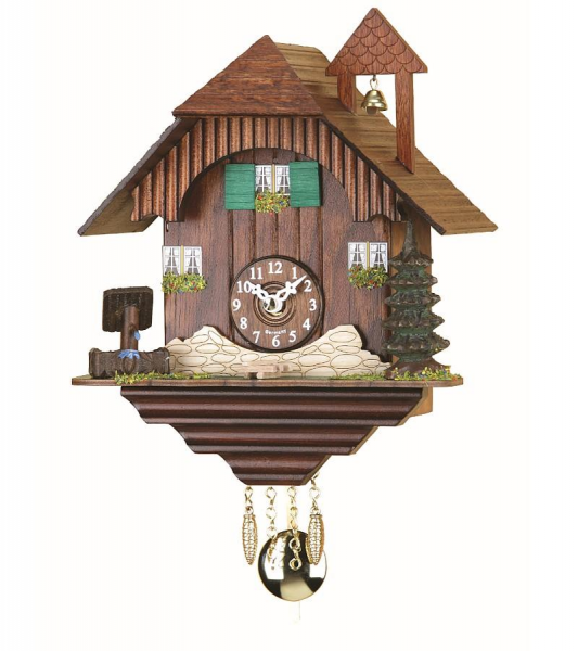 Top Kuckulino Black Forest clock 10inch Black Forest House