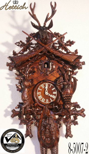Home Original Black Forest Cuckoo Clock hand crafted 95cm high with ...