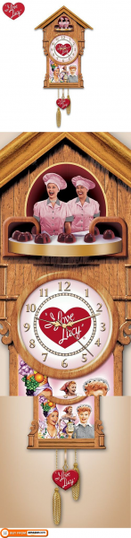 Love Lucy Cuckoo Clock by The Bradford Exchange, Whether stomping ...