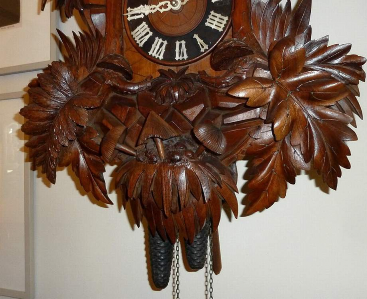 Highly Carved Large Black Forest Cuckoo Clock | Collectors Weekly