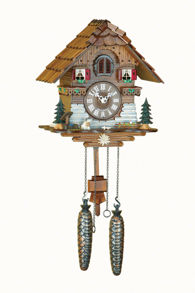 Chalet Cuckoo Clocks Cuckoo Clock Quartz-movement Chalet-Style 25cm by ...