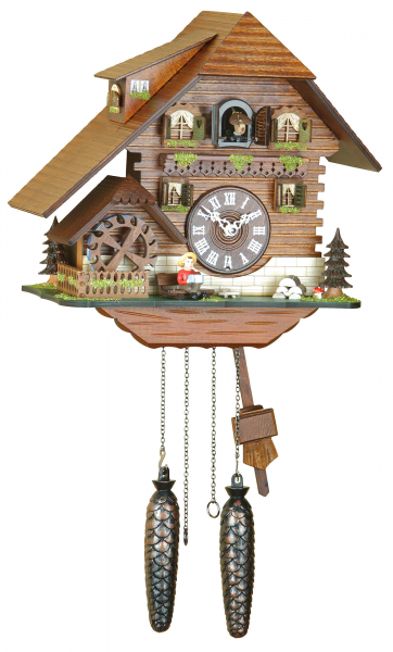Chalet Cuckoo Clocks Cuckoo Clock Quartz-movement Chalet-Style 29cm by ...