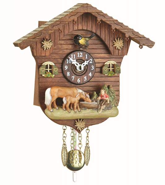 and clocks mini black forest clocks quartz with cuckoo chime