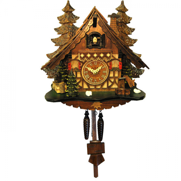 Engstler Battery-Operated Full Size Cuckoo Clock—Buy Now!