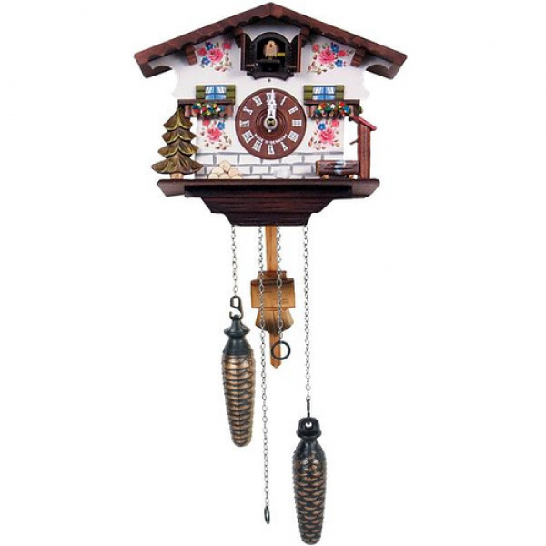 Black Forest Battery Operated Cuckoo Clock & Reviews | Wayfair