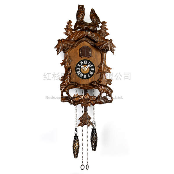 Gifts for children cuckoo clock cuckoo clock hand carved wooden clock ...
