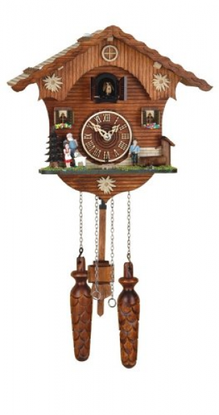 Cuckoo Clocks UK | Quartz Cuckoo Clock Swiss house Heidi, incl ...