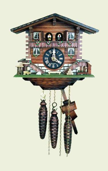 Original Black Forest Cuckoo Clock Swiss House made by HUBERT HERR ...