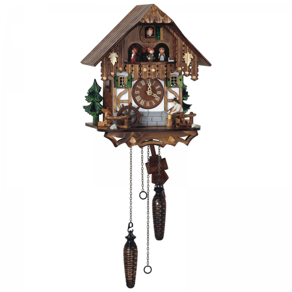 Schneider Quartz Black Forest 10 Inches Cuckoo Clock - Cuckoo Clocks ...