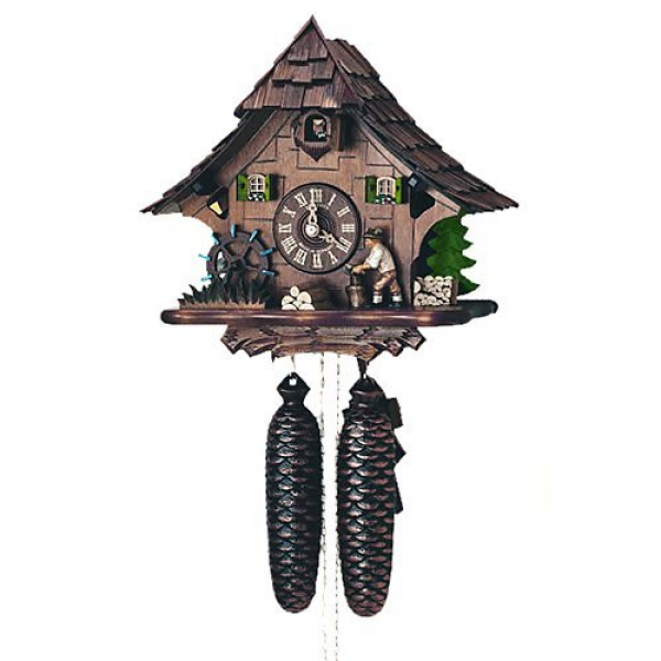 Schneider Black Forest 10 Inches Cuckoo Clock - Walmart.com