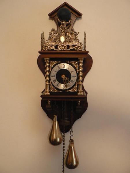 Cuckoo & Wall Clocks - REDUCED!!!!! Antique Dutch Zaandam Zaanse Wall ...