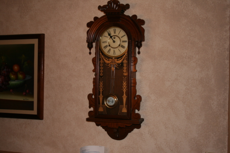 Antique Clocks / grandfather wall clock