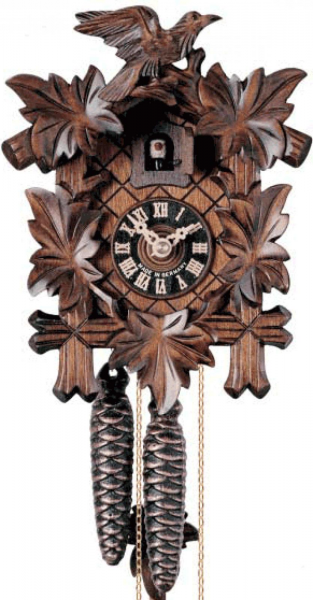 ... & Bird 1 Day Mechanical German Black Forest Cuckoo Clock - NYC1581