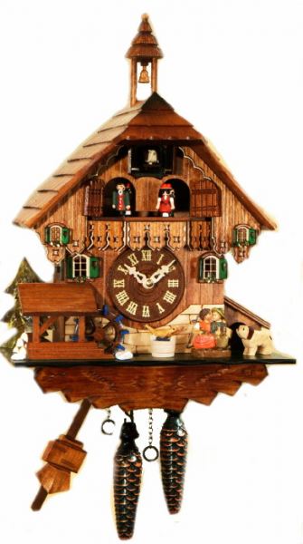 Quartz Kissing Musical Cuckoo Clock 4484QMT - Cuckoo Clock Nest