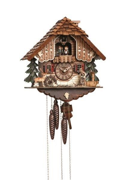 Cuckoo Kingdom, inc - Chalet Cuckoo Clock | Wood Chopper | Water Wheel ...