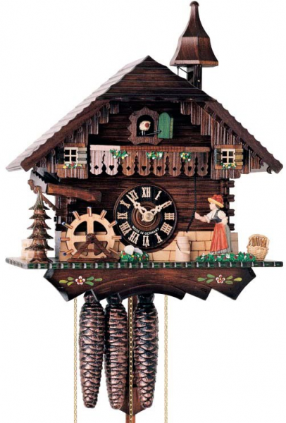 Home 16 Musical Moving Bell Ringer and Water Wheel Chalet - 1 Day ...