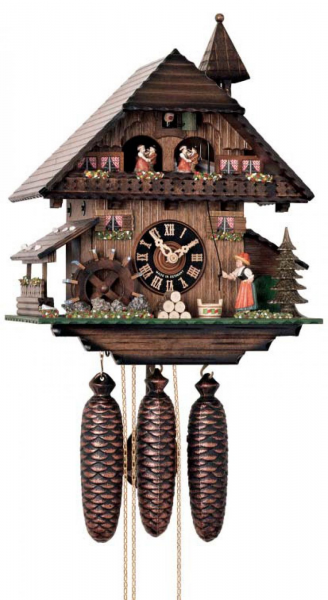 18in Moving Bell Ringer German Black Forest Cuckoo 8 Day Musical ...
