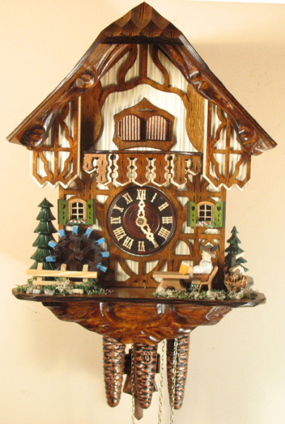 Sternreiter Beer Drinker Cuckoo Clock with One Day Musical Movement ...