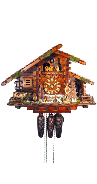 Cuckoo Clock Hunters House, Farmhouse - 8 day running time with music ...