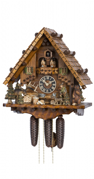 Cuckoo Clock Hunter's House - 8 day running time with music - Nr. HO ...