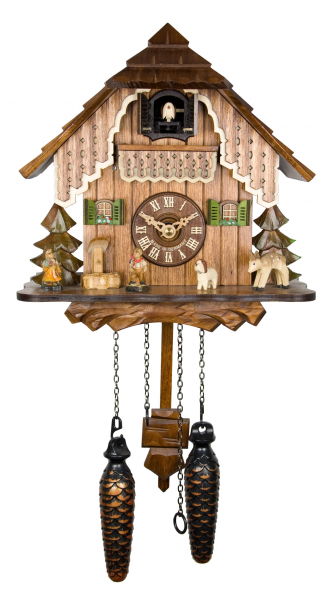 Adolf Herr Quartz Cuckoo Clock THE House IN THE Black Forest AH 19 QM ...
