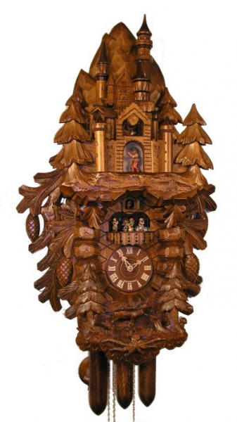 Adolf Herr Cuckoo Clock - Neuschwanstein Castle - Limited Edition - Nr ...
