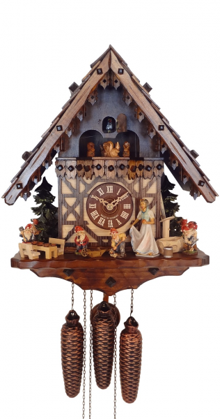 Day Musical Snow White and the 7 Dwarfs Cuckoo Clock