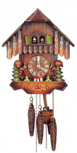 Cuckoo Clocks UK | Original One Day Movement Cuckoo Clock with Moving ...