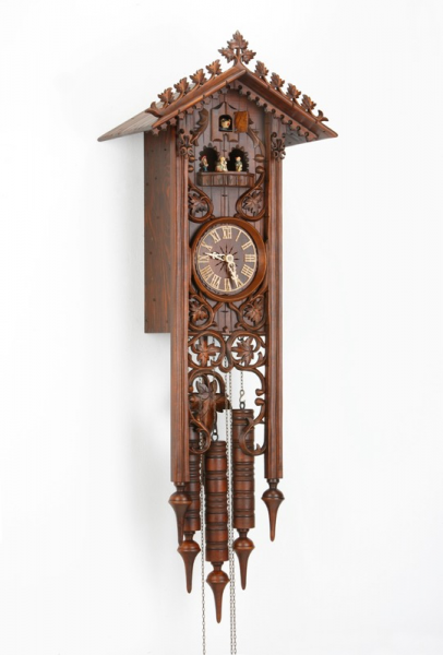 Long Bahnhusle Cuckoo Clock with 8 Day Movement 8365