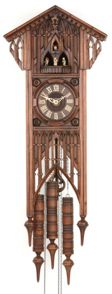bahnhusle cuckoo clock with 8 day movement previous in cuckoo clocks ...