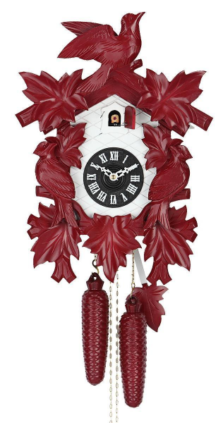 in classical design. The cuckoo clock has a mechanical 8 days movement ...