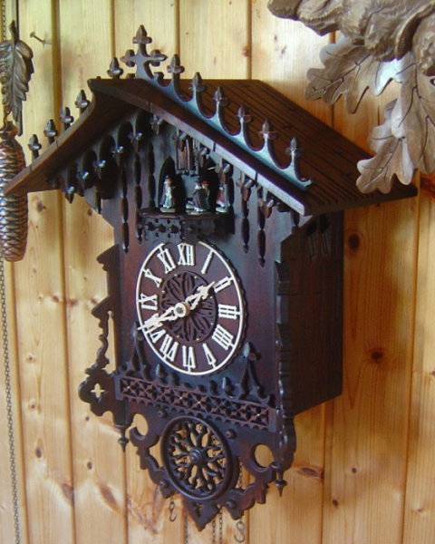Cuckoo Clock 8 Day Movement Christophe Gothic 1850 8371