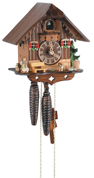 Cuckoo Clock Little black forest house - 1 day running time - Nr. SC ...