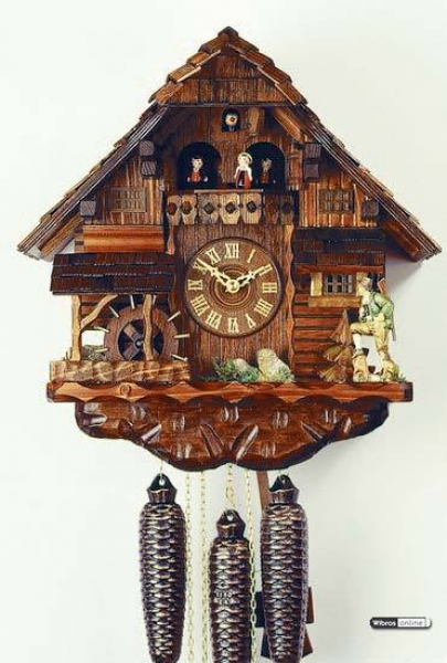 day musical - Chalet Cuckoo Clock- Hunter - 15' | eBay