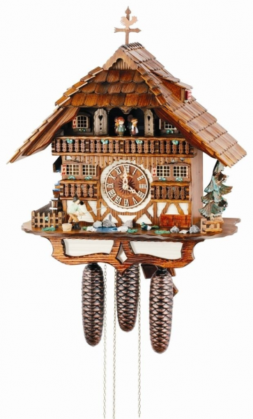 Pin by Cuckoo Kingdom, Inc on Musical Chalet Cuckoo Clocks, 8 Day Mov ...
