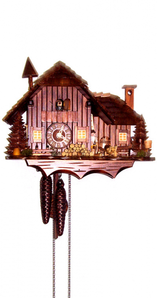 Cuckoo Clock Little luxury Mill House - 1 day running time - Nr. 1 ...