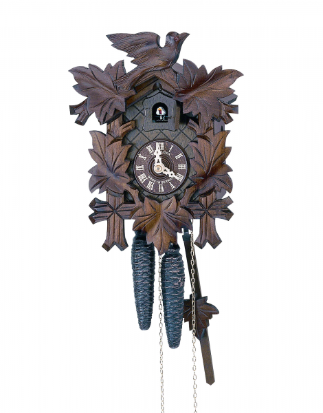 Carved Cuckoo Clocks Cuckoo Clock 1-day-movement Carved-Style 23cm by ...