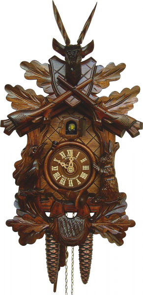Carved Cuckoo Clocks Cuckoo Clock 1-day-movement Carved-Style 40cm by ...