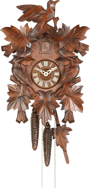 Carved Cuckoo Clocks Cuckoo Clock 1-day-movement Carved-Style 38cm by ...