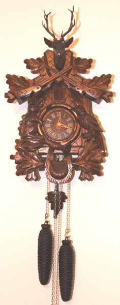 pair of German Black Forest Cuckoo Clocks | Due Time