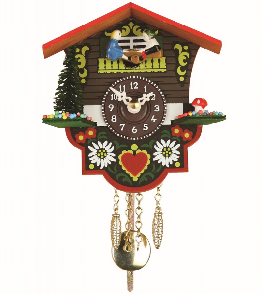 and clocks mini black forest clocks 1 day spring movement